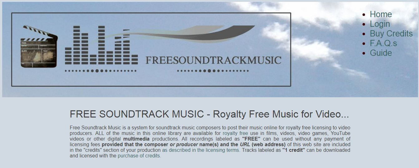 Free Soundtrack Music