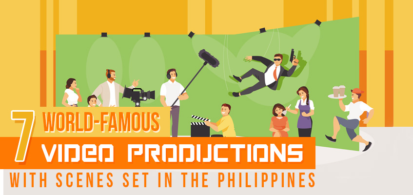 World-Famous Video Productions with Scenes Set in the Philippines