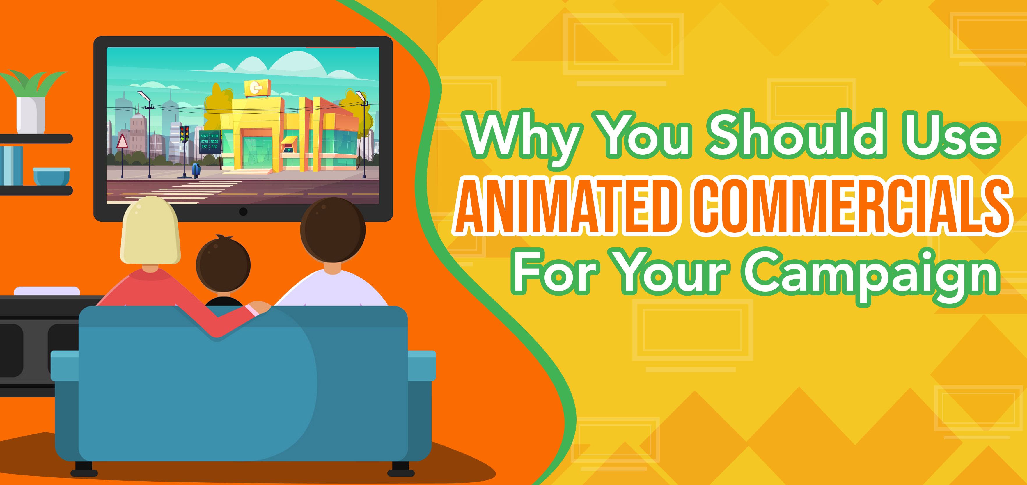 Why You Should Use Animated Commercials for Your Campaign